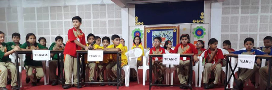 Brainstorming Quiz Competition at Shemford, Pinjore