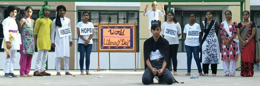WORLD LITERACY DAY OBSERVED AT SHEMFORD FUTURISTIC SCHOOL, PINJORE