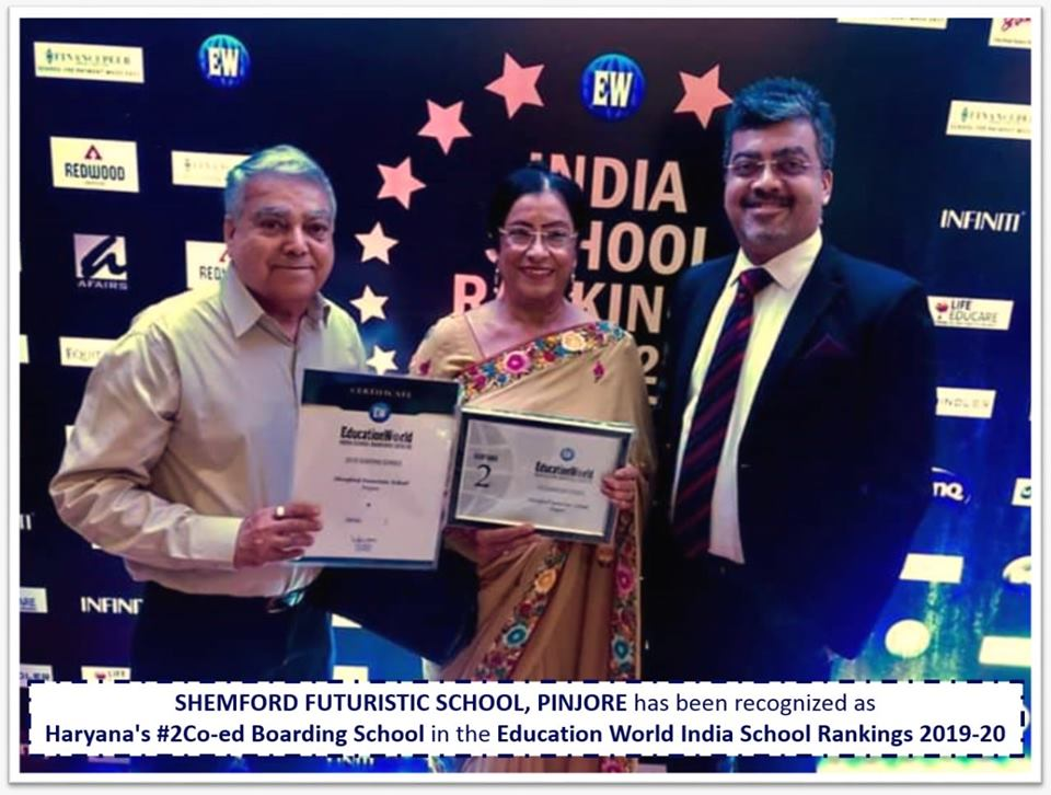 Pinjore has been Ranked No 2 among all Co-ed Boarding Schools in Haryana