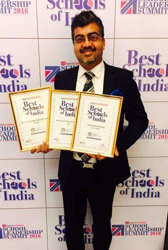 3rd Digital Learning School Leadership Summit Awards held at the Le Meridien Hotel, Delhi on 18th February '2016.