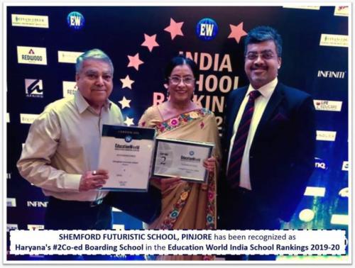 Prestigious Education World India School Rankings 2019-20
