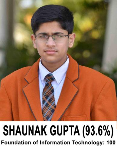 SHAUNAK GUPTA (93.6)